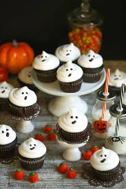 easy ghost cupcakes recipe ghost cupcakes halloween parties