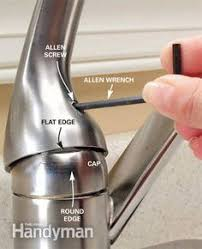 how to repair a leaky kitchen faucet how to repair a single handle kitchen faucet leaky faucet