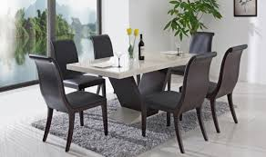 contemporary dining tables in style home design and architecture