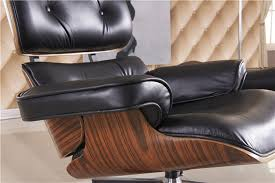 Recliner Ottoman Free Shipping Lounge Chair Luxury Top Grain Leather Recliner