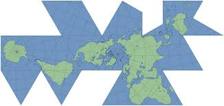 Types Of World Maps by Buckminster Fuller U0027s Dymaxion Map Geography Social Studies And