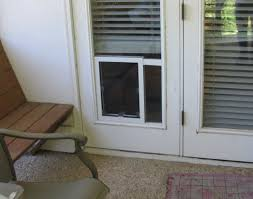 door patio french doors with dog door awesome pet door for