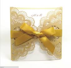 Yellow Wedding Invitation Cards Compare Prices On Card Marriage Online Shopping Buy Low Price