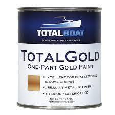 totalboat totalgold gold metallic paint