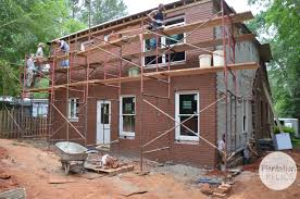 brick house new windows and brick of flip house 2