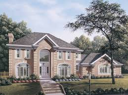 brick colonial house plans 4 bedroom 3 bath colonial house plan alp 09f9 allplans com
