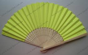 fan favors yellow paper fan wedding party favors free postage australia no