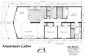 floor plans cabins mountain cabin model floor plan kit homebuilders house plans