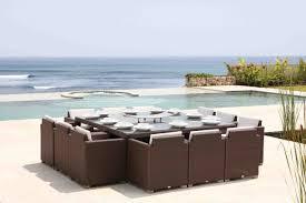 Pacific  Seater Square Rattan Garden Set - Skyline outdoor furniture