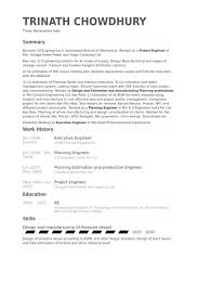 Power Plant Electrical Engineer Resume Sample by Executive Engineer Resume Samples Visualcv Resume Samples Database