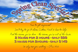 spring cleaning special custom maid house cleaning of arizona