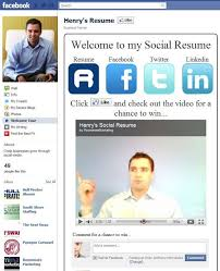 social media resume 10 creative social media resumes to learn from