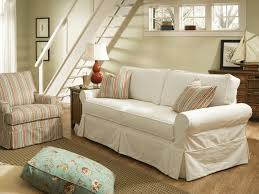 Slipcovered Sectional Sofa by Slipcovered Furniture Washable Fabrics Cottage Home