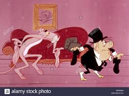 the pink panther the pink panther u0026 man the pink panther show 1969 stock photo