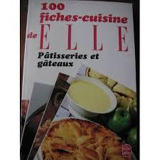 fiches cuisine fiches cuisine de pâtisseries et gâteaux de collectif format