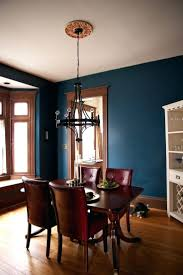 superb awesome dining room design with dark blue and awesome