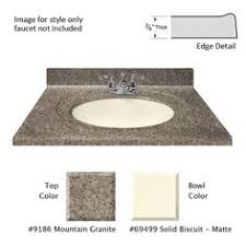 Bathroom Vanity Tops 43 X 22 Corian Tumbleweed Bathroom Vanity Top With Integrated Bowl