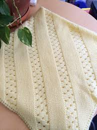 free knitting pattern quick baby blanket baby blanket free knitting patterns crochet and knit