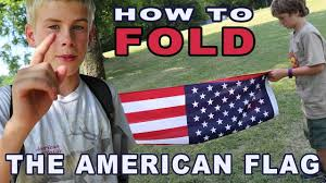 Fold Flag Military Style Wildsides How To Fold The American Flag Youtube