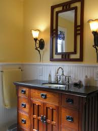 bathroom craftsman vanity mirror not just the loo pinterest