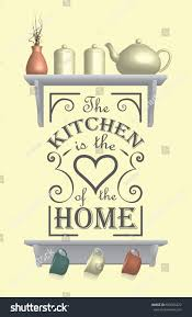 kitchen wall decoration quote decal stock vector 653063272 kitchen wall decoration with quote decal
