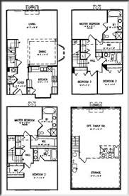 zspmed of townhome floor plans