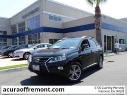 lexus rx for sale lexus rx 350 for sale in fremont ca acura of fremont