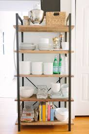 Open Kitchen Shelves Instead Of Cabinets by 581 Best Bakers Racks Images On Pinterest Bakers Rack Apartment