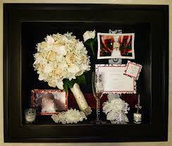 wedding wishes keepsake shadow box preserved wedding bouquet flowers displayed in a custom shadow box