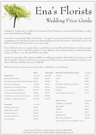 wedding flowers list flower prices for weddings inspirational flower list for wedding