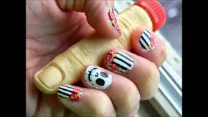 imagenes de uñas decoradas de jalowin decoración de uñas para halloween halloween nail art youtube