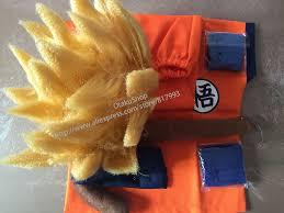 Saiyan Halloween Costume Ball Burst Picture Detailed Picture Dragon Ball
