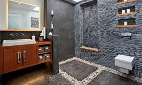Black Slate Bathrooms 15 Stunning Examples Of Interior Design Using Natural Stone
