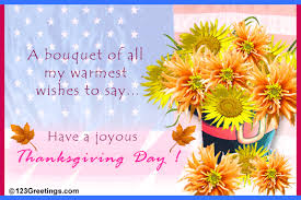 a bouquet of all my warmth wishes to say a joyous happy