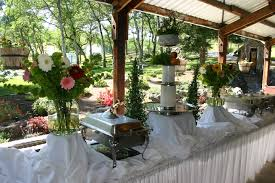 Patio Buffet Table Buffet Setup For Wedding Buffet Table It Was Set Up In The