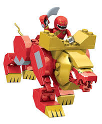 amazon mega bloks power rangers red lion zord toys u0026 games