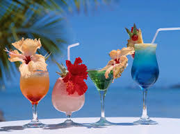cocktail drinks on the beach summer drink suggestions
