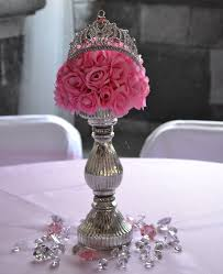 Barbie Themed Baby Shower by Royal Princess Party Centerpiece Royal Theme Baby Shower