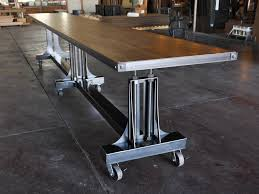 Vintage Conference Table Post Industrial Conference Table Vintage Industrial Furniture