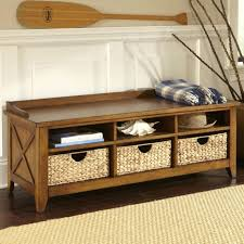 Settee Bench With Storage by Entrance Bench With Shoe Storage How To Build A Bench Seat Wooden