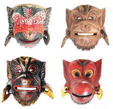 wood home decorative masks ebay