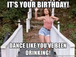 Birthday Memes Dirty - birthday dance meme mne vse pohuj