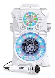 singing machine with disco lights amazon com singing machine sdl485w remix hi def digital karaoke
