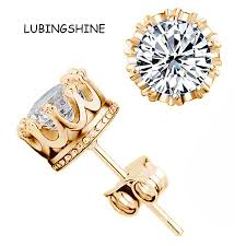 cheap stud earrings online shop hot sale gold color earrings stud women men jewelry