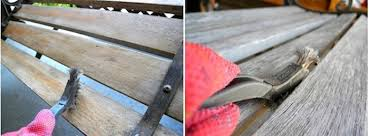 Replace Wood Slats On Outdoor Bench Weekend Diy Project Wow Up An Old Park Bench Homejelly