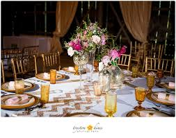 Mismatched Vases Wedding Katie Alan U0027s Blush Gold U0026 Emerald Wedding U2014 The Barn At Twin