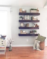 Wood Shelf Plans For A Wall by Best 25 Floating Shelf Decor Ideas On Pinterest Shelving Decor