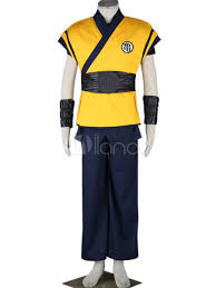 Goku Halloween Costumes Dragon Ball Movie Son Goku Halloween Cosplay Costume Halloween