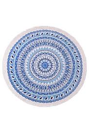 vagabond round beach towel from minnesota by big island swim