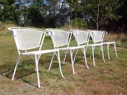 mid century outdoor furniture ebay